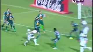 #فيديو.. #محمد_إبراهيم يتعادل للزمالك أمام #المصري