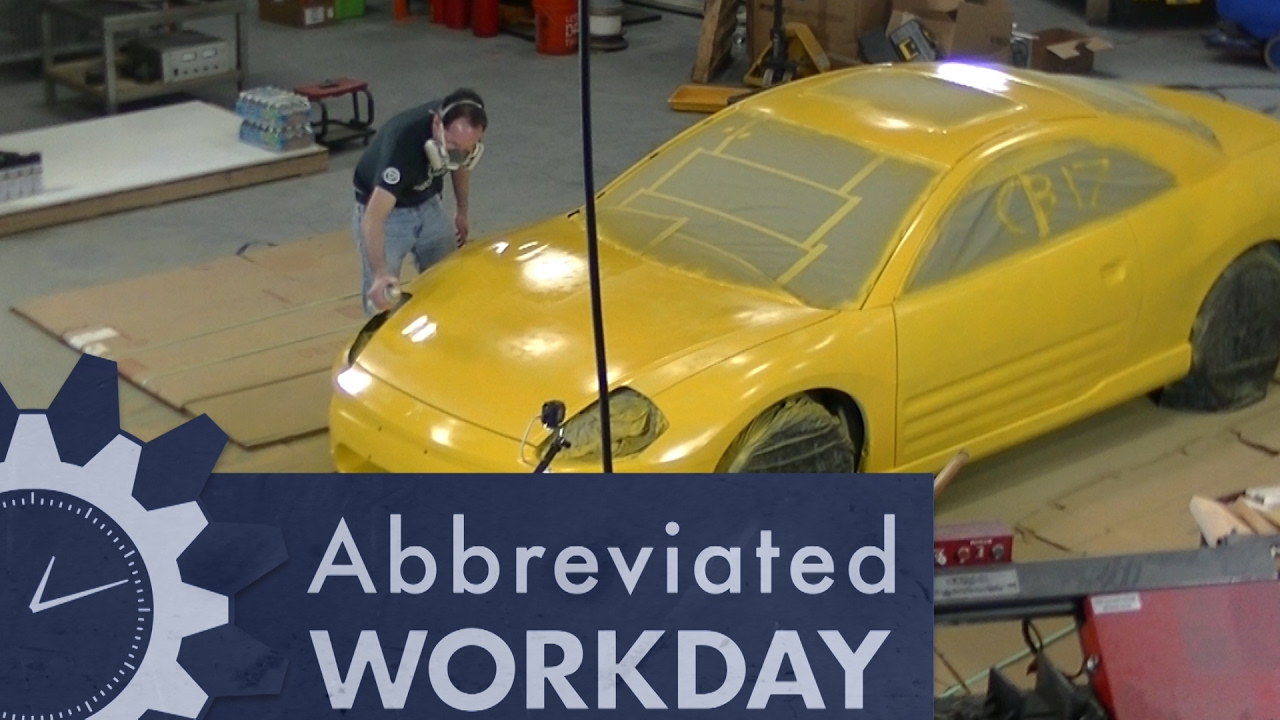 car paint spray can Painting an Entire Car with Spray Cans: Abbreviated Workday #53  car paint spray can