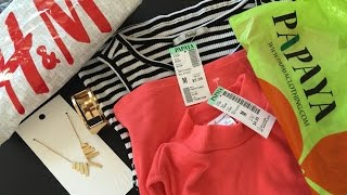 Shopping Haul Video | PAPAYA -  H & M Clearance Sale shopping by DesiViva