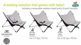Pihenőszék csecsemőnek Beaba összecsukható 0 hónap