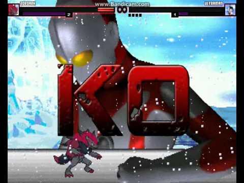 M.U.G.E.N Episode 728 Zoroark (Me) Vs Ultraman