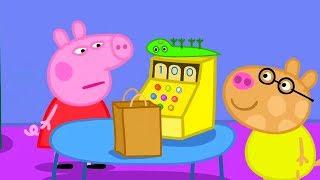 Свинка Пеппа на русском все серии подряд Свинка Пеппа продает игрушки Мультики
