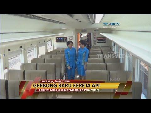 PT. KAI Luncurkan Kereta Ekonomi Fasilitas Eksekutif