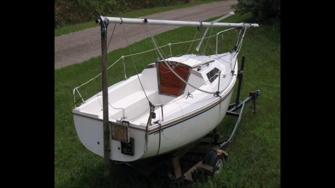 1988 18 foot Catalina Capri Sailboat for sale in Galien, MI  $3,500