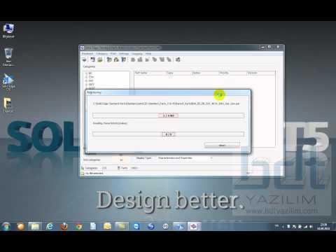 Solid Edge ST5 Standard Parts Kurulum Videosu