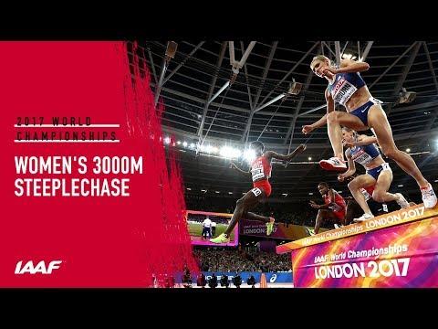 Women's 3000m Steeplechase Final | IAAF World Championships London 2017