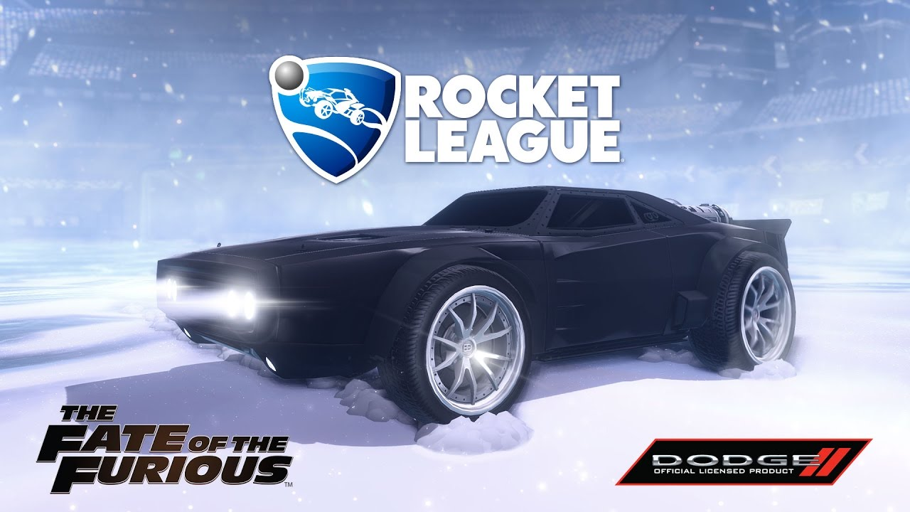 Rocket League The Fate Of The Furious Trailer