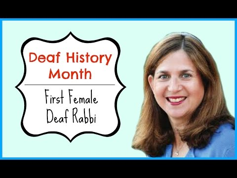 Deaf History Month: First Deaf Female Rabbi ┃ ASL Stew