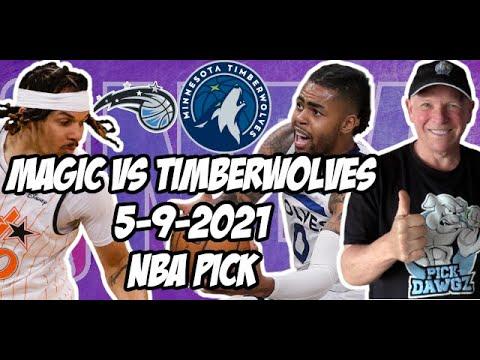 Orlando Magic vs Minnesota Timberwolves 5/9/21 Free NBA Pick and Prediction NBA Betting Tips