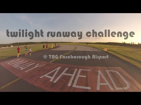 Single Speed - Twilight Runway Challenge (@ TAG Farnborough airport)