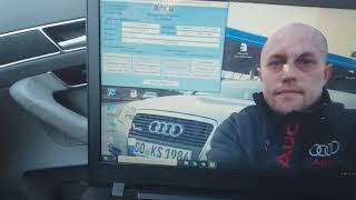 отключение индикации непристегнутого ремня безопасности Audi A6 C6