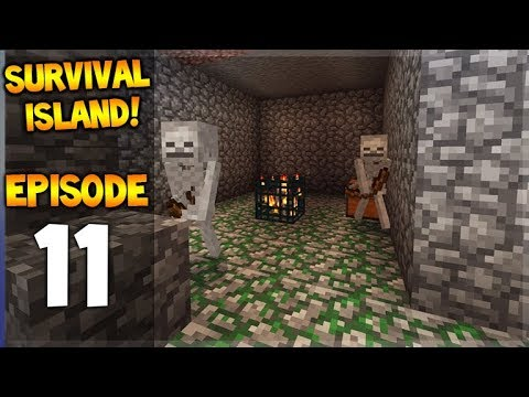 Minecraft Pocket Edition - Survival Island - The Best Mining Ever!! Episode 11