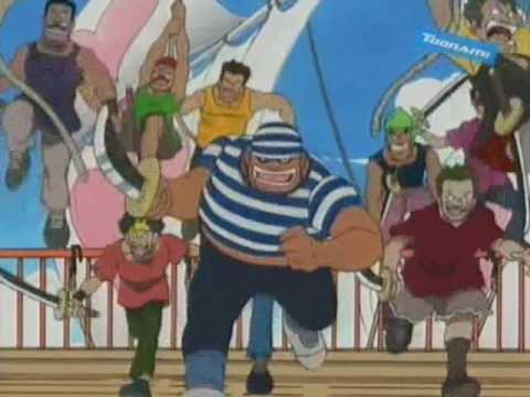 One Piece - 4Kids English Dub Rap Theme (Version 3) - YouTube