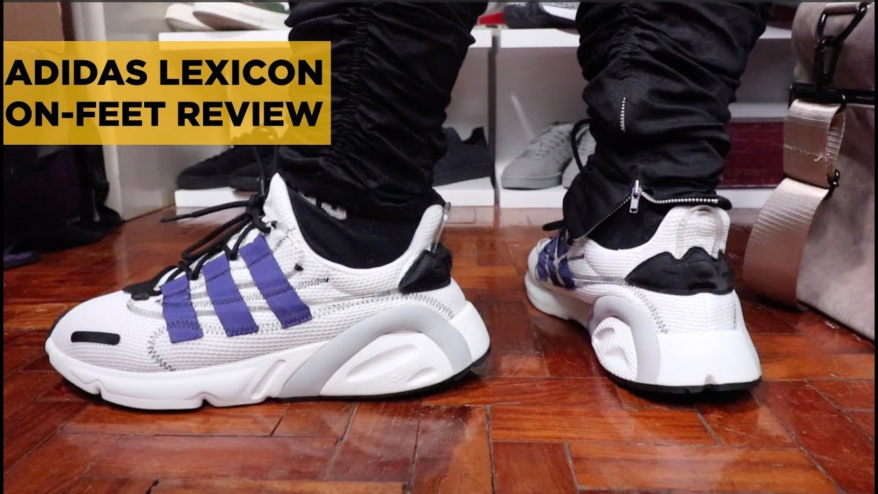 Paine Gillic Turbina Obediente  ADIDAS LEXICON (LXCON) ON FEET REVIEW AND UNBOXING (IS IT WORTH YOUR  MONEY?) - YouTube