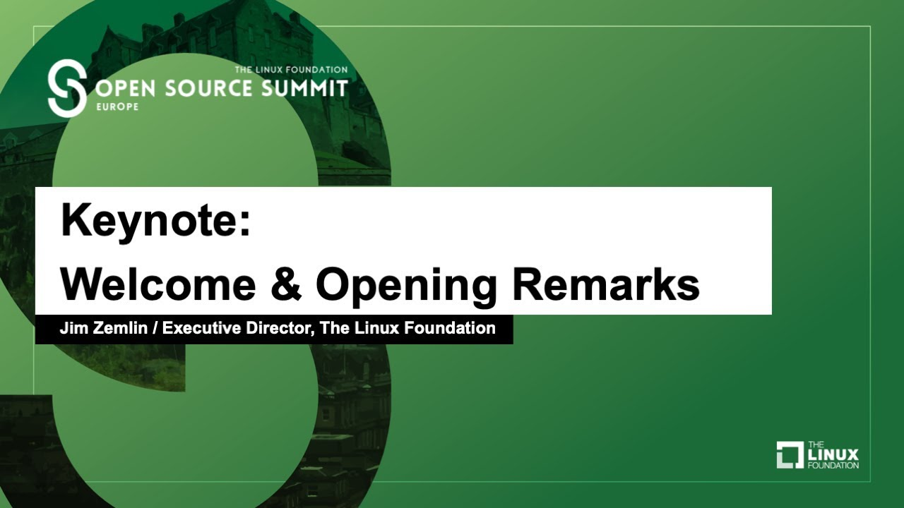 Open Source Summit Europe 2018 - Linux Foundation Events