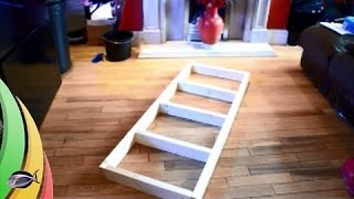 How To: Build A Fish Tank Stand. Part 1 The Skeleton