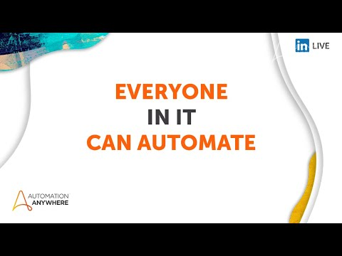 Everyone Can Automate - IT