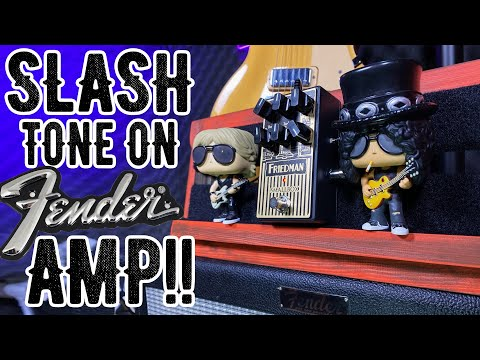 Slash Guitar Tone On A FENDER Amp?!! | Friedman Smallbox Pedal