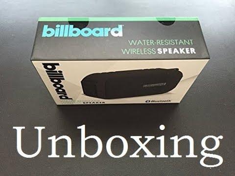 Billboard Bluetooth Speaker Quick Unboxing [HD]