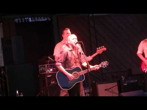 Sam Llanas-A Little Song live in West Allis, WI 8-1-13