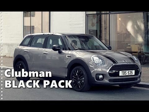 Mini Clubman Black Pack Limited Edition Youtube