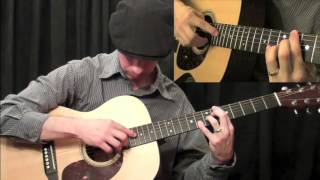 How To Play Guitar - Acoustic Guitar Mastery Harp Harmonics: Part 3