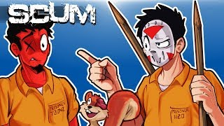 """SCUM - HOW """"NOT"""" TO SURVIVE IN A SCUMMY WORLD! (Funny Moments) Ep. 2"""