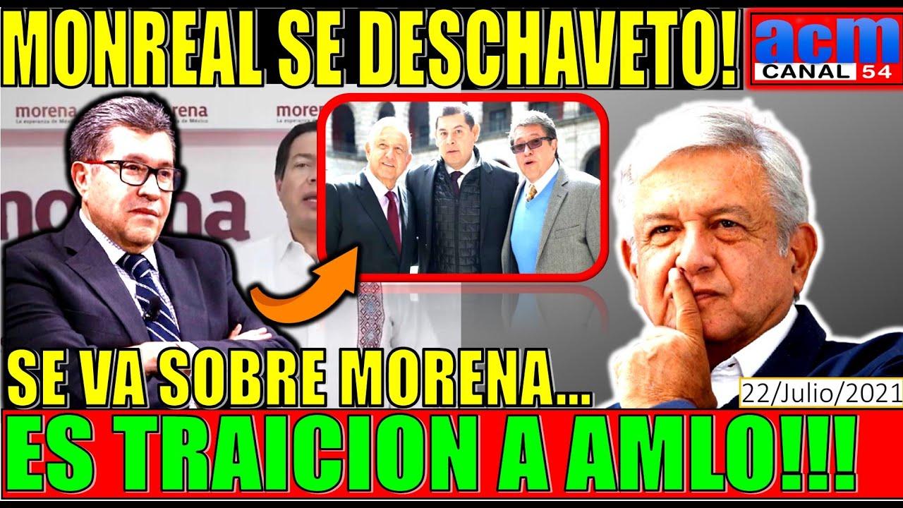 MONREAL CHUPO FAROS!!! POR ESTO QUE HIZO SE LE ACABÓ EL CORRIDO EN MORENA, SE FUE SOBRE AMLO!!!