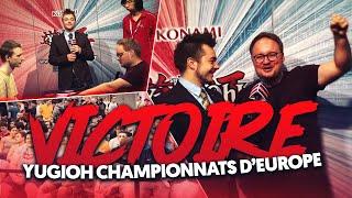 Ma victoire au championnat d'Europe ! YuGiOh !