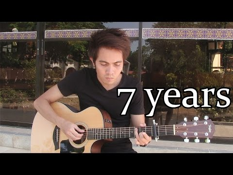7 Years - Lukas Graham (fingerstyle guitar cover)