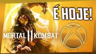 MORTAL KOMBAT 11 em PARCERIA com o XBOX e EVENTO IMPERDÍVEL HOJE!
