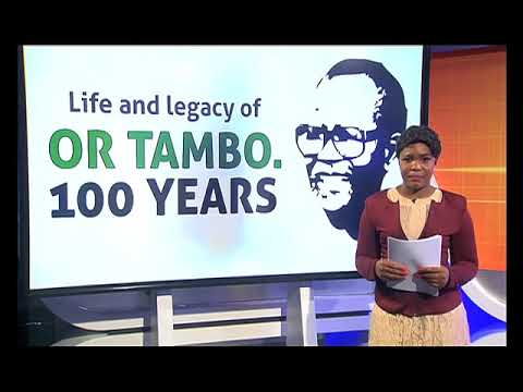 Zwa Maramani - Remembering OR Tambo 100 years on