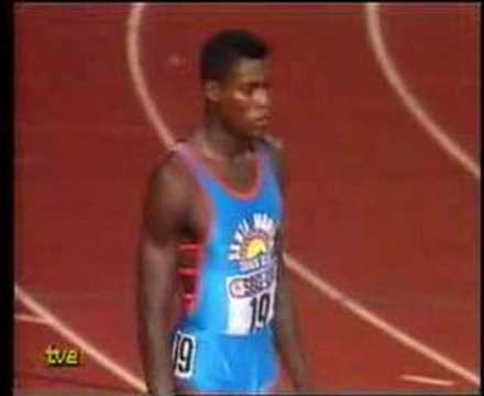 Carl Lewis vs. Ben Johnson (#2), Zúrich 17-Ag-1988