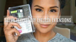 Salon Perfect Eyelash Extensions - DIY Eyelash Extensions