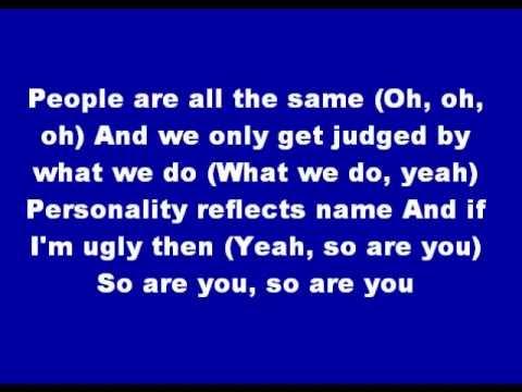 Sugababes - Ugly (Lyrics