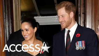 Meghan Markle And Prince Harry Caught Sharing Sweet Private Moment At Remembrance Service
