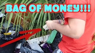 Finding Money While Dumpster Diving