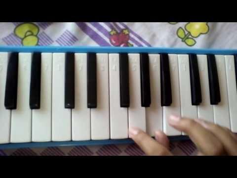 Not angka pianika lagu kopi dangdut