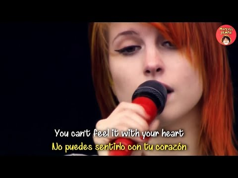 Paramore - Brick by boring brick (Sub Español + Lyrics)