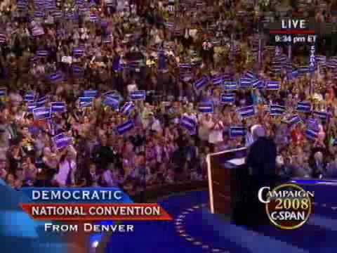 DNC Tribute and Speech by Sen. Edward Kennedy