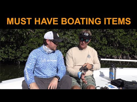 10 Must-Have Boating Items (For Fishermen)