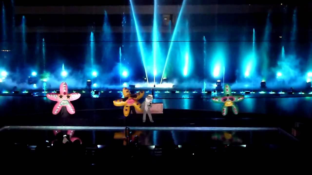 Omega Watch Price >> Manila Ocean Park - Musical Fountain Show (Part 2) - YouTube