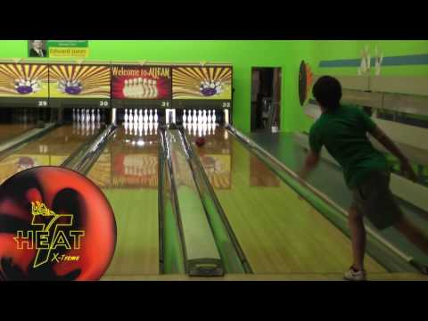 New Track Heat Extreme short ball reaction video on Rico layout