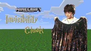 Invisibility Cloak in Minecraft PE (Pocket Edition)
