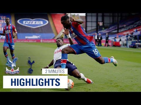 HIGHLIGHTS | Crystal Palace 1-1 Tottenham Hotspur