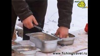 Рыбный Стол. Кислые щи с осетриной