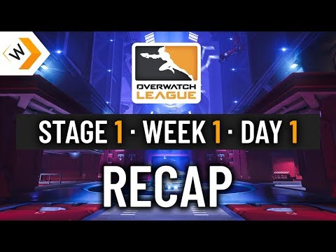 Overwatch League: Day 1 Recap - Day 2 Preview thumbnail