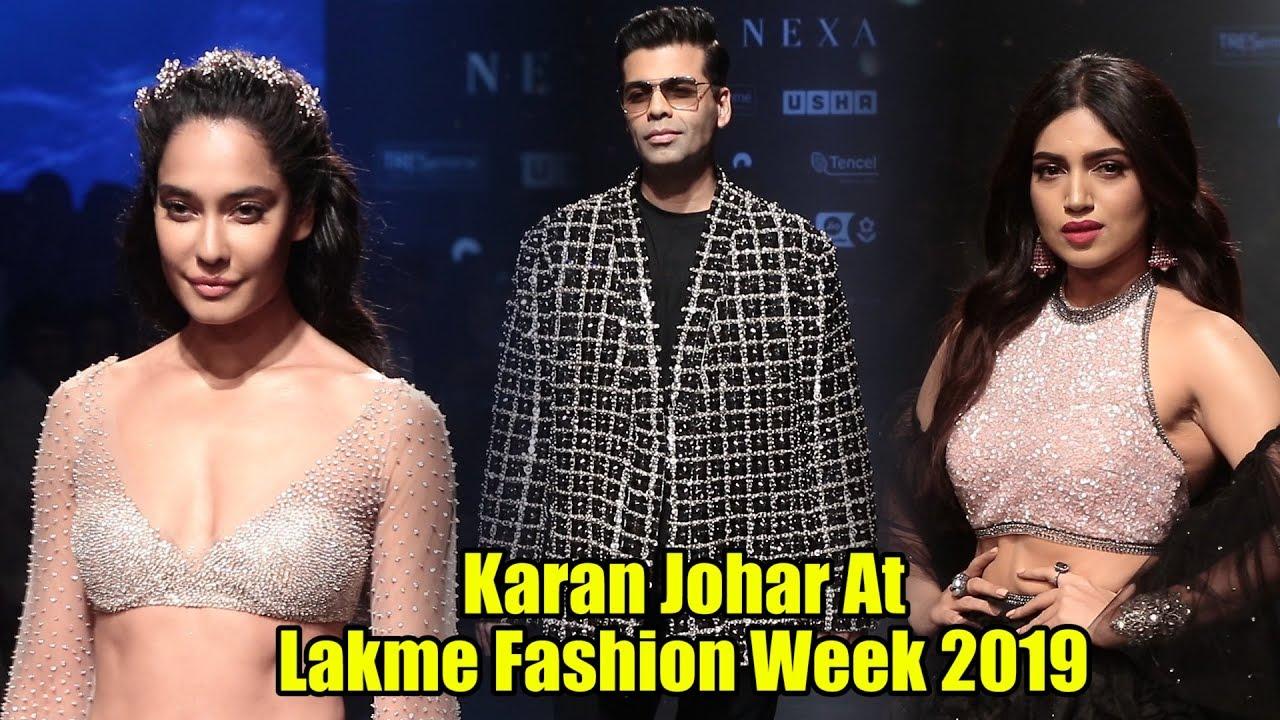 Koffee With Karan - Karan Johar, Bhumi Pednekar, Lisa Haydon | Lakme Fashion Week 2019