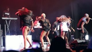 Davido Gobe Live on Stage in London Indigo2 with CEO dancers