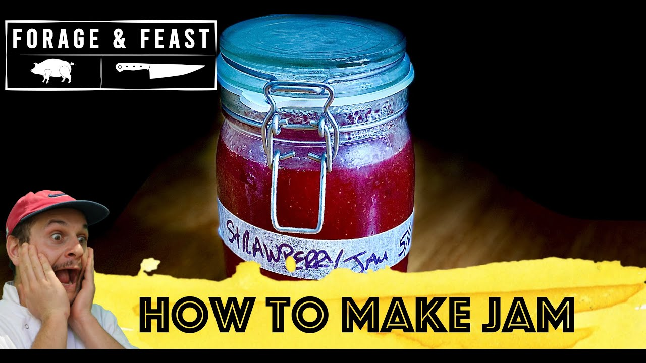 How to make the best Strawberry Jam | Forage and Feast Recipe